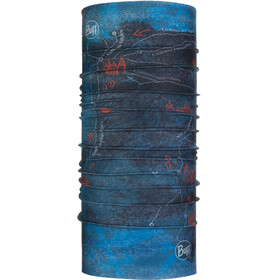 Buff El Camino de Santiago Coolnet UV+ Neck Tube Peninsula Denim